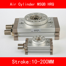 цена на MSQB HRQ SMC Cylinder Rotary Stroke 10-200mm Table Oscillating Cylinders 180 Degree Turn R with A without Hydraulic Buffer
