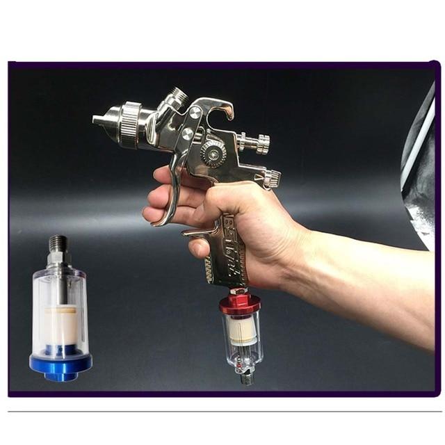 1/4 Water Oil Separator Inline Air Hose Filter Moisture Trap For Compressor Spray Moisture Sprayer Spray Paint Tool