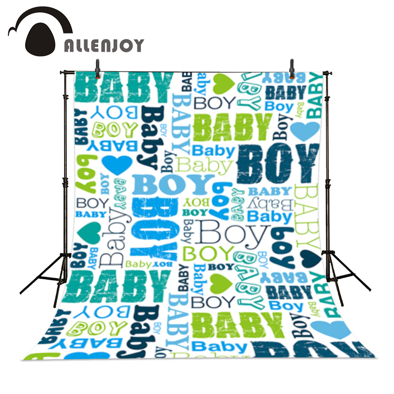 Allenjoy photo backdrops Baby Boy Graffiti Cool Professional Blue background for photo shoots for a photo shoot a bag graffiti classic boy 20 blue