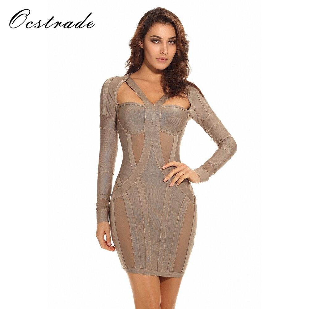 Aliexpress Com Buy New Mini Official Store Home Theater: Aliexpress.com : Buy Ocstrade Women's Bandage Dress Long