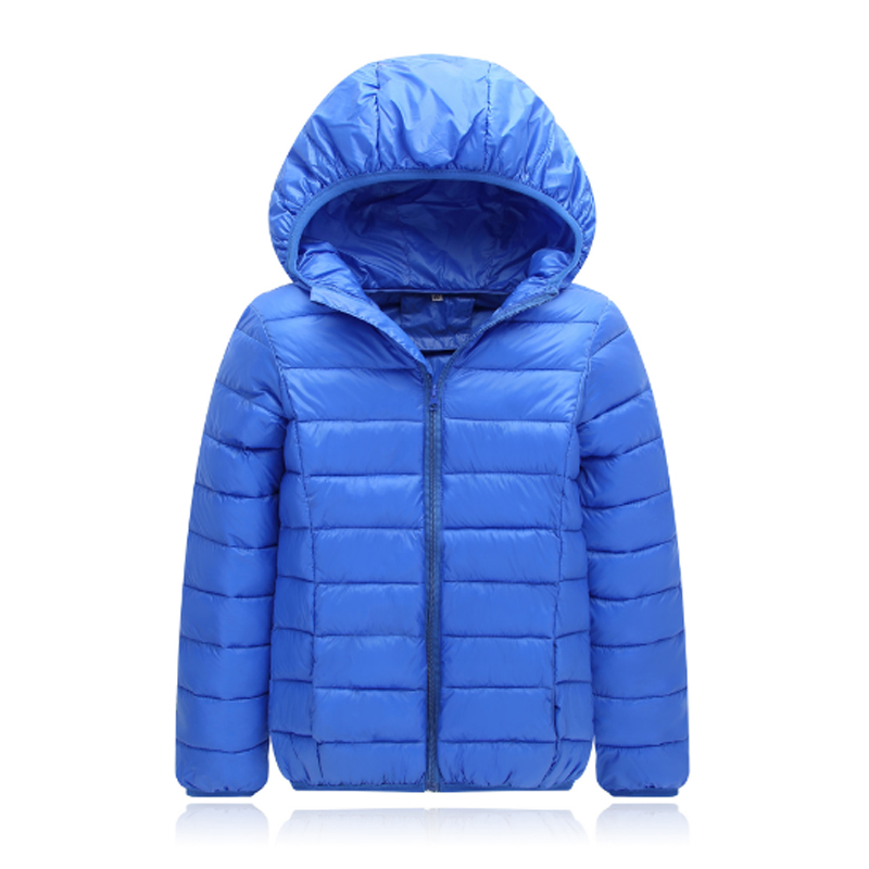 Girls Clothing Down&Parkas 2017 New Fashion Winter Cotton Hooded Solid Zipper Kids Boys Jacket Children Outwear Coats 3dp003 jackets for girls winter cotton down jacket for girl down parkas with fur hooded polka dot outwear coats children s clothing hot