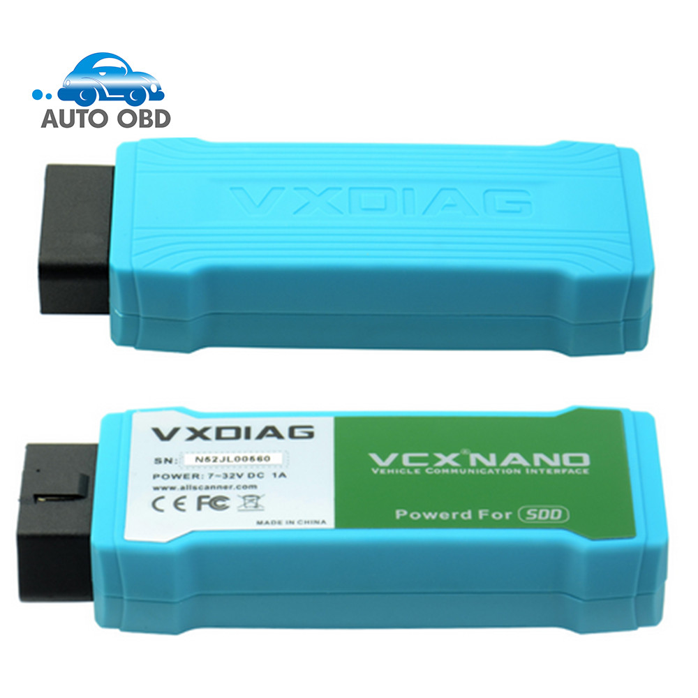 High Performance VXDIAG VCX NANO For Land Rover For Jaguar 2 IN 1 Software SDD V145 Professional Auto Diagnostic Scanner