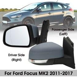 Espejo eléctrico para puerta de coche, para Ford, Focus MK2, 2008, 2009, 2010, 2011