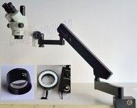 FYSCOPE 3.5X 45X STEREO ZOOM SIMUL BRENN MIKROSKOP + GELENK STAND MIKROSKOP + 60 PCS LED-in Mikroskope aus Werkzeug bei