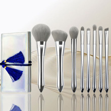 Pro 8Pcs Makeup Brushes Set Eye Shadow Foundation Powder Make Up Brush Kit beauty tools pro 9 pcs makeup brushes set tools make up toiletry kit wool puff foundation powder case cosmetic foundation brush