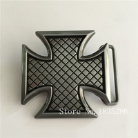 Retail Wholesale New Arrival Super Cool High Quality Cross Metal Belt Buckle NEW Western Men