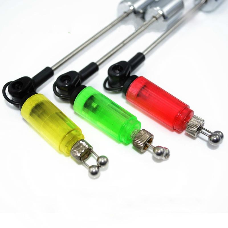 1pc LED Karpfenangeln Swinger Hanger Illuminated Swinger Sensor Swinger Illuminated Biss Angeln Indicator Angeln Bissanzeiger Tackle Walmeck