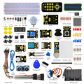 Frete grátis! nova keyestudio super iniciado aprendizagem kit para arduino (sem placa mcu) + pdf