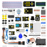 Free Shipping Basic Starter Kit 1602LCD UNO R3 Suite Study Kit For Arduino