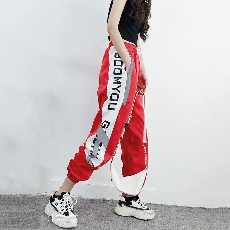 Hip Hop Harem Pant woman Letter Printed Jogger pants Women's Pants