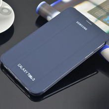 """PU Funda de piel Cubierta Del Soporte Para Samsung Galaxy Tab 3 7.0 7 """"T210 T211 P3200"""