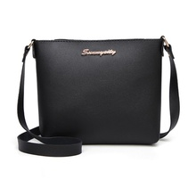 Fashion Women Solid zipper Shoulder Bag Crossbody B