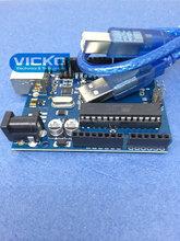 Best prices ! UNO R3 MEGA328P ATMEGA16U2 for Arduino Compatible + USB cable Voltage Regulators