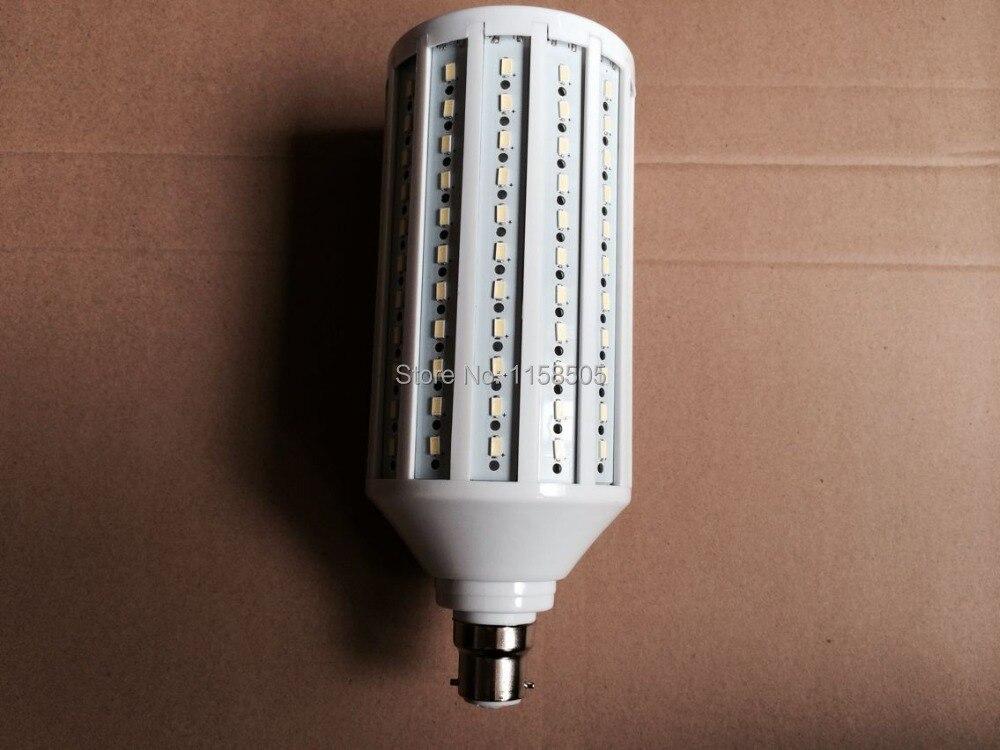 5pcs/lot B22 55W LED Light Bulb 5730 SMD 176 LED Chip Ultra bright 110V/220V/230V/240V/AC White/Warm White Led Spotlight Lamps new super bright led bulb e27 12w 16w 30w 50w 220v cold white warm white round led light lamp 5730 chip for house home office