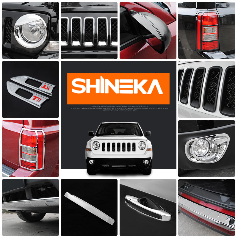 SHINEKA Car Sticker For Jeep Patriot 2011-2016 Car Styling Stickers And Decals For Jeep Patriot 2011 2012 2013 2014 2015 2016