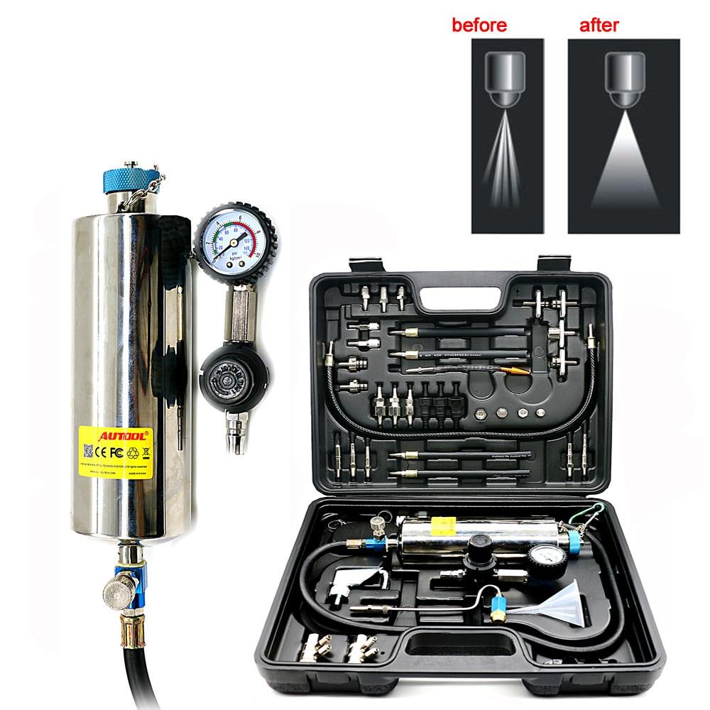Car Vehicle Fuel Injector Automotive Non-Dismantle Fuel System Cleaner Wash Set