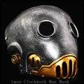 100% Resin Top New The Clockwork Man Masks Halloween Hellboy Movie Cosplay Masquerade Kroenen Nazi face Resin Mask Adult Size