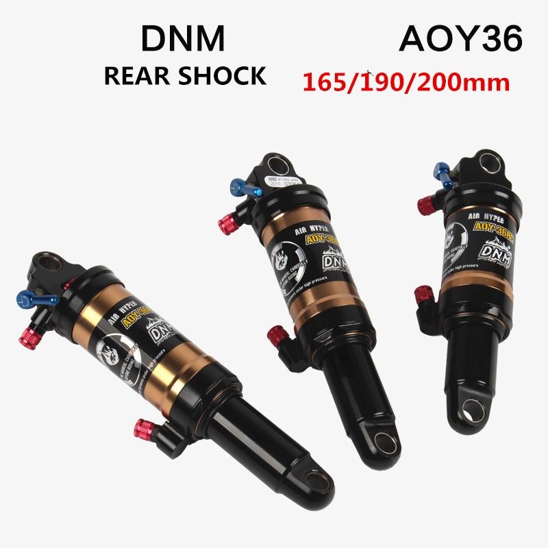 HIMALO Bicycle Rear Shocks Downhill DNM AOY-36RC Soft Tail Mountain Bike Rear Shock XC Trail Mountain Bike Shock Absorbers