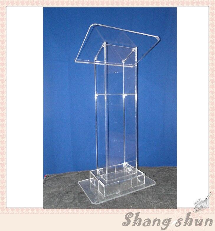 Modern design acrylic podium acrylic lectern podium practical modern design acrylic podium conference lectern podium