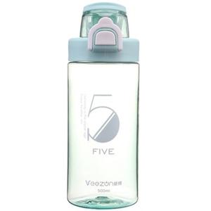 Image 3 - Спортивная бутылка 500 мл герметичная Спортивная фляжка для воды высокого качества для путешествий, прогулок, похода, бега, портативные бутылки