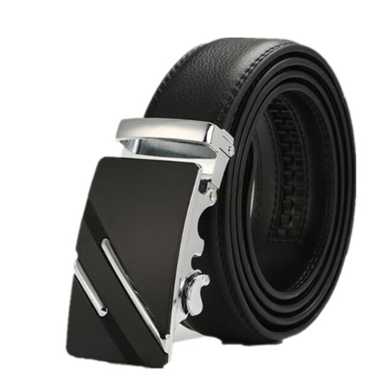 2019 New  Fashion Men's  Leather Strap Male Belt Automatic Buckle Belts For Men Cummerbunds genuine leather