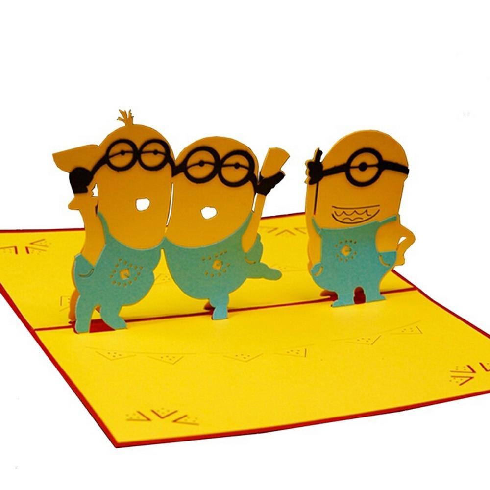 Achetez en gros dessin anim 3d pop up anniversaire en - Caricature gratuite en ligne ...