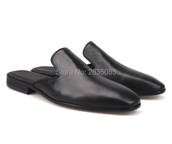 Qualidade Mens Pic Couro Homens Liso Hombre Chinelos Primavera Eu38 Casual Slip Alta Flats Zapatillas As 46 On Sapatos Verão Preto De Mocassins d6qwTS1