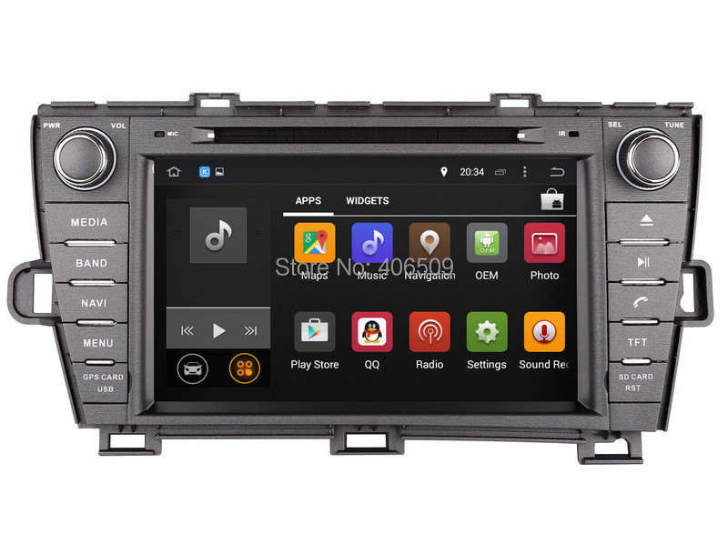 Android 8 0 In Dash Car Dvd Player For Toyota Prius 2009 2010 2011