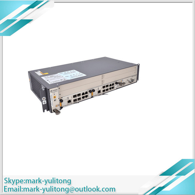 GEPON OLT MA5608T 1 * MUCD 1 * MPWC GPON / EPON Optical Line Terminal 2U height