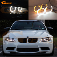 For BMW 3 Series E90 E92 E93 M3 Coupe Cabriolet 2007 2013 DTM Style LED Angel