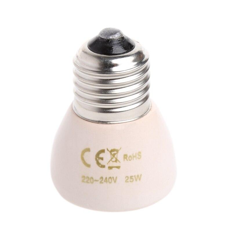 White E27 25W 50W 75W 100W Small Mini Far Infrared Ceramic Es