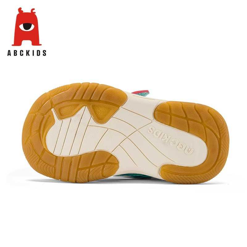 Abckids 2-7 T ฤดูใบไม้ผลิฤดูร้อนกีฬารองเท้าเด็ก Unisex กีฬากลางแจ้งรองเท้าสบาย Anti - ลื่นรองเท้าผ้าใบ