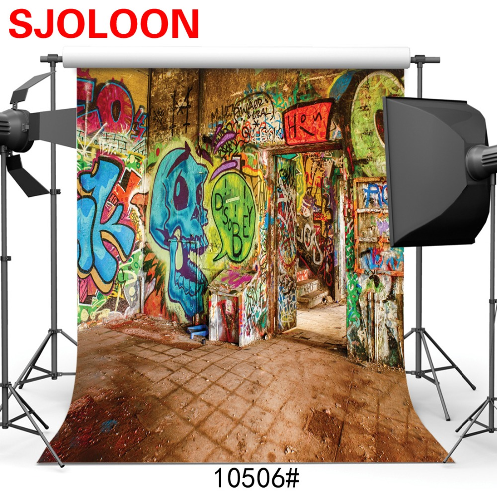 Indoor wall graffiti  Photography backdrops Photography-studio-backdrop Fond studio photo vinyle  Backgrounds for photo studio muslin backdrops for photography backgrounds for photo studio 300x450cm photography studio backdrop fond studio photo vinyle