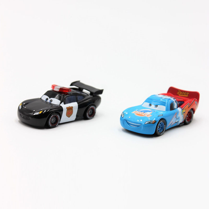 Disney Pixar Cars 2pcs/Lot Lightning Mcqueen 1:55 Scale Diecast Metal Alloy Modle Brio Cute Toys for Children Birthday Gifts