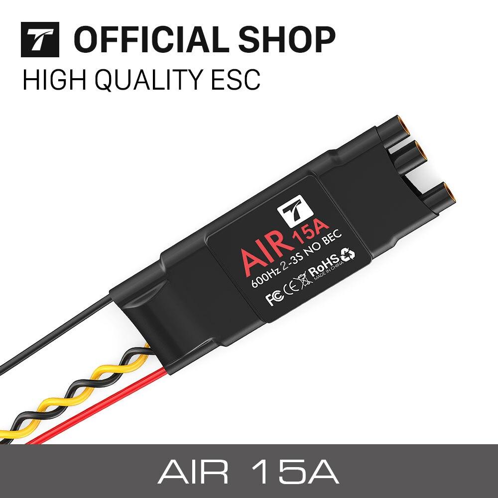 Футболка Двигатель ESC Air 15A (2-3 S 600 Гц без bec) бесщеточный Двигатель электронный Скорость контроллер для MultiCopter