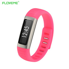 FLOVEME A2 Smart Uhr Bluetooth3.0 Intelligente Schlaf-monitor Miband Armband Smartband für IOS Android Smartwatch Armband