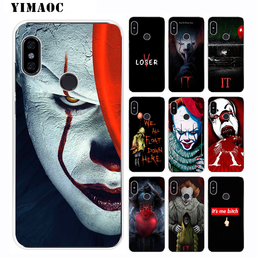 Expressive Yimaoc The Clown Horror It Soft Silicone Case For Xiaomi Redmi 6 6a 5a 5 S2 Puls Note 7 6 5 4x 4 4a Pro Wide Selection; Phone Bags & Cases