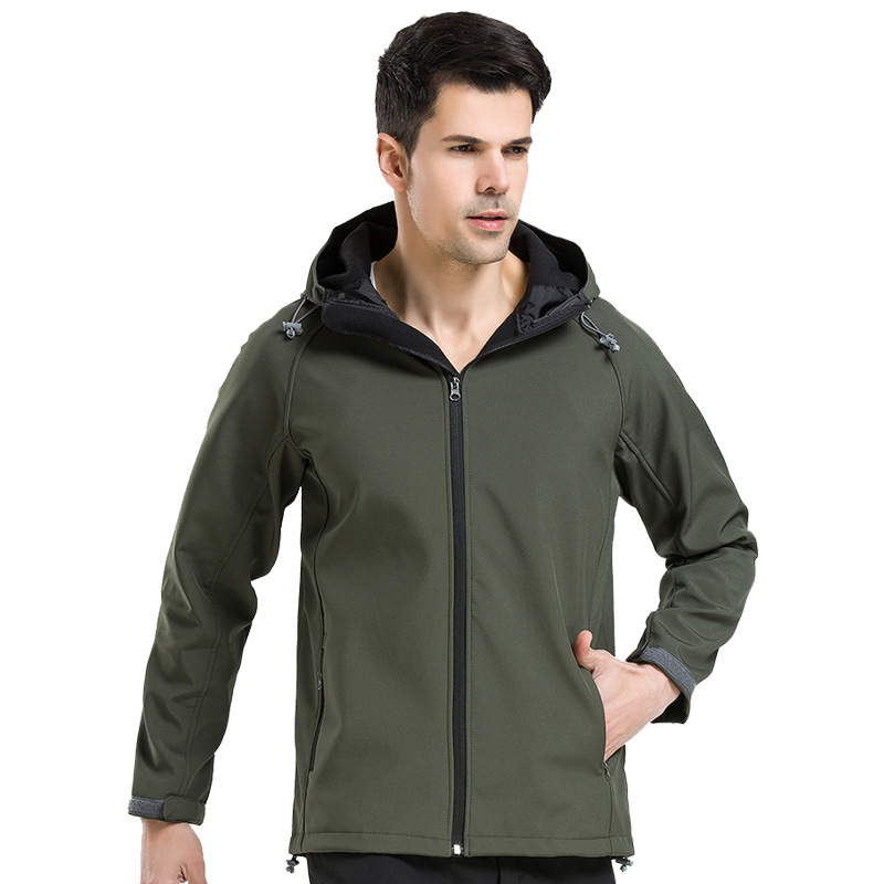 IEMUH Outdoor Soft Shell Fleece Jacket Ерлер Polartec - Спорттық киім мен керек-жарақтар - фото 6
