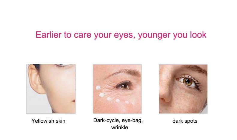 Vibratório olho massagem rolo beleza olhos dispositivo