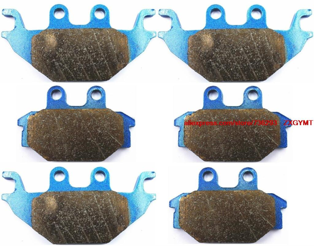 Sintered Atv / Utv Disc Brake Pads Set fit for CAN-AM DS250 DS 250 2008 & up motorcycle disc brake pads fa473 fit for can am spyder rs ses 990cc 08 09 phantom black