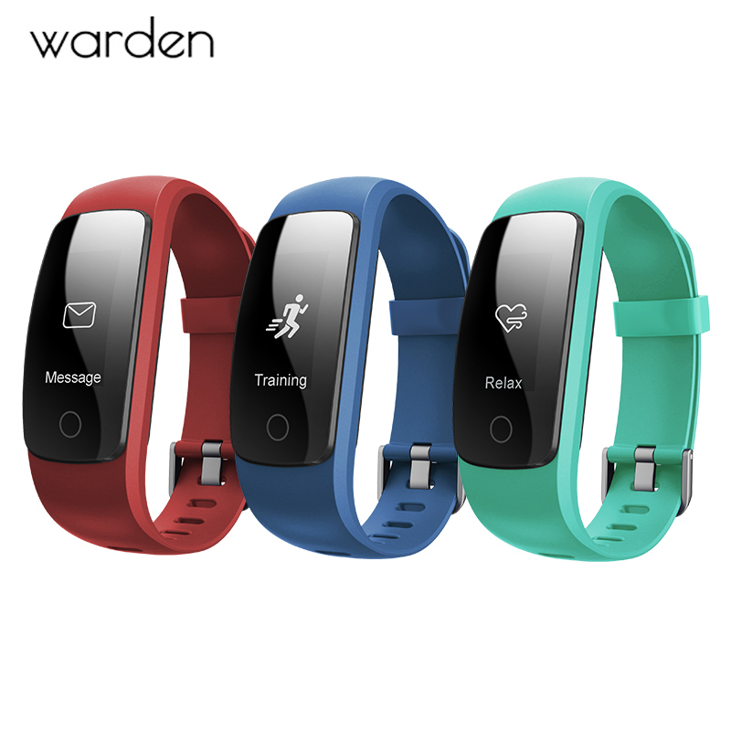 Smart Sport Watch ID107 Plus Heart Rate Bracelet Monitor For Women Men Smart Wristband Health Fitness