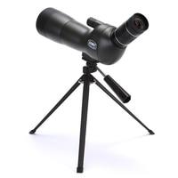 GOMU 20 60X60 Spotting Scope Zoom Telescope Hunting Angled 60mm Waterproof +Tripod Soft Case Monocular