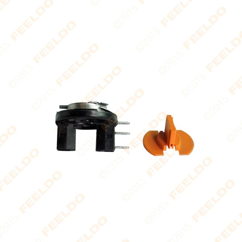 US $17.04 29% OFF|FEELDO 10pcs Car H15 DIT LED Bulb Socket For Fog on