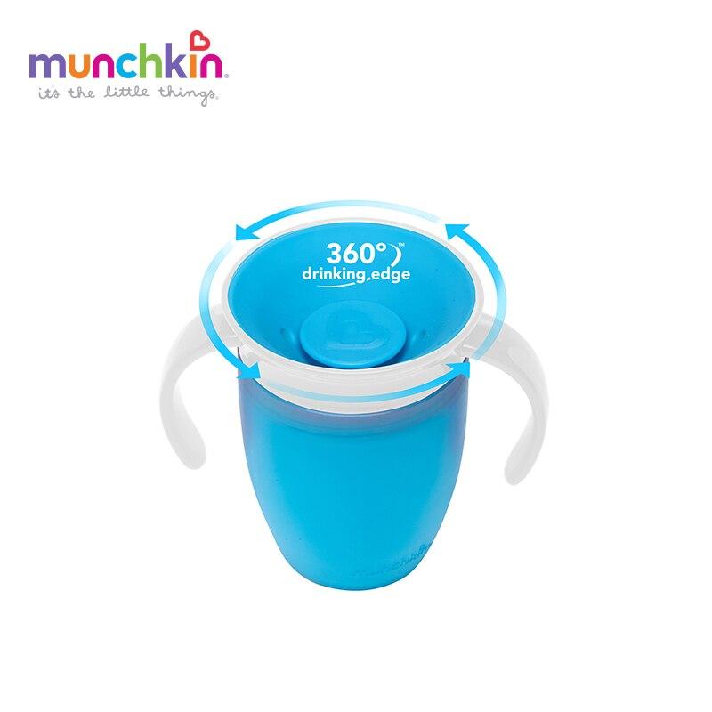 Munchkin Miracle 360 À Bec Formateur bébé Tasse Enfant bébé Fille Garçons Enfants copo BPA tasse de bébé gratuit