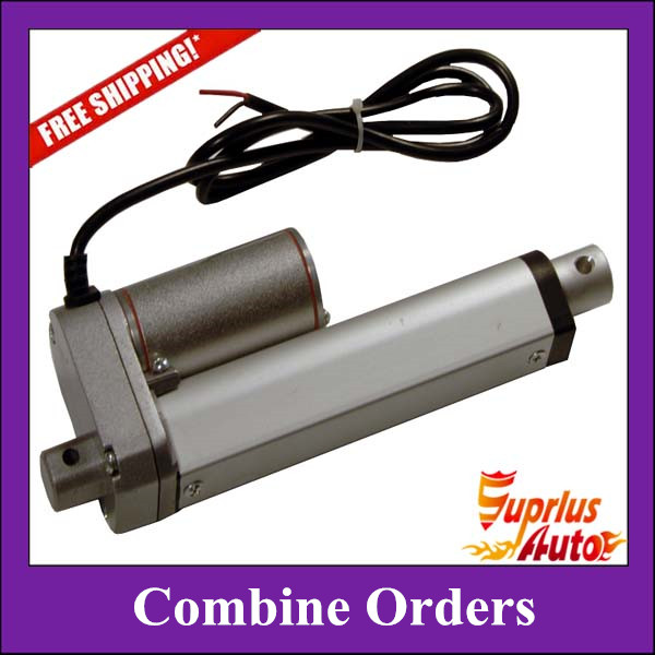 Free Shipping Combine Orders Including 50mm (2pcs), 100mm (3pcs), 150mm (2pcs), 200mm (4pcs) 12V DC 1000N Force Linear ActuatorsFree Shipping Combine Orders Including 50mm (2pcs), 100mm (3pcs), 150mm (2pcs), 200mm (4pcs) 12V DC 1000N Force Linear Actuators