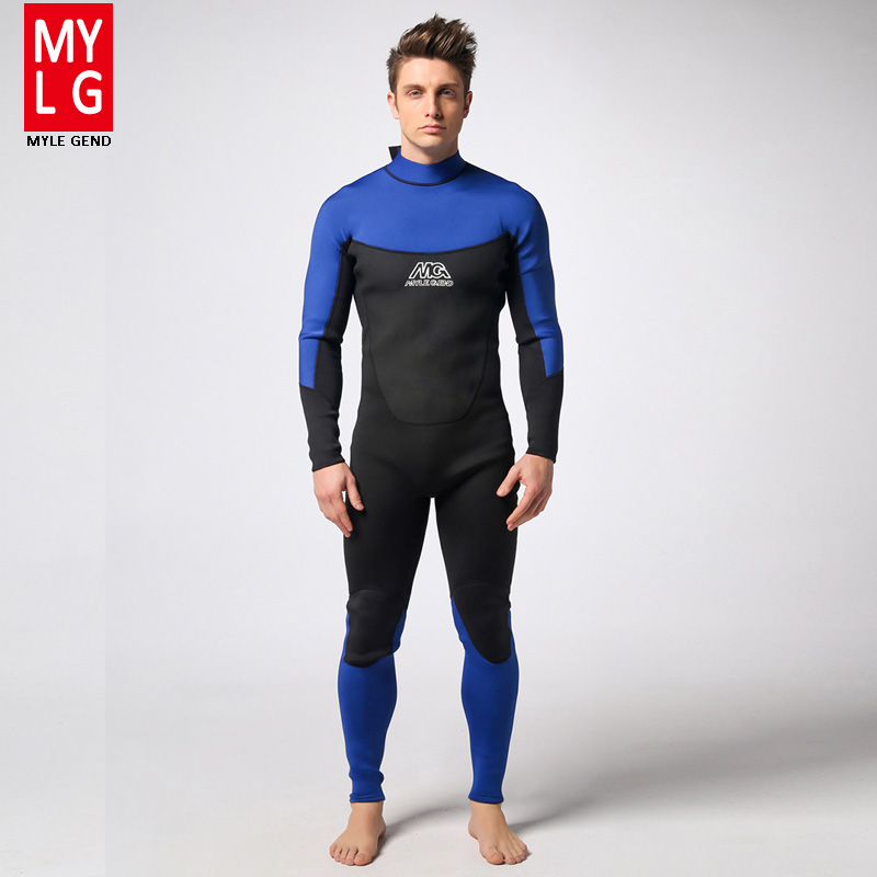 Spearfishing Piece Wetsuit thickened 3MM Neoprene Scuba Diving Suit Surfing Wetsuits winter swimming Triathlon Anti-UV clothing sbart camo spearfishing wetsuit 3mm neoprene camouflage wetsuit professional diving suit men wet suits surfing wetsuits o1018