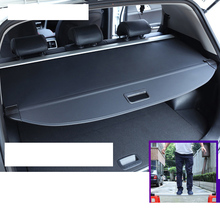 Lsrtw2017 Leather Canvas Car Trunk Compartment Plate Cover Curtain for Hyundai Tucson Ix 35 2010-2020 2019 2018 2017 2016 2015