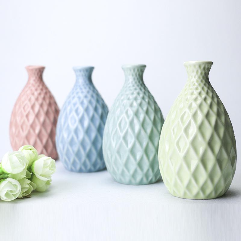 florero de la decoracin de la boda de cermica de artesana florero creativo decorativo jarrones de
