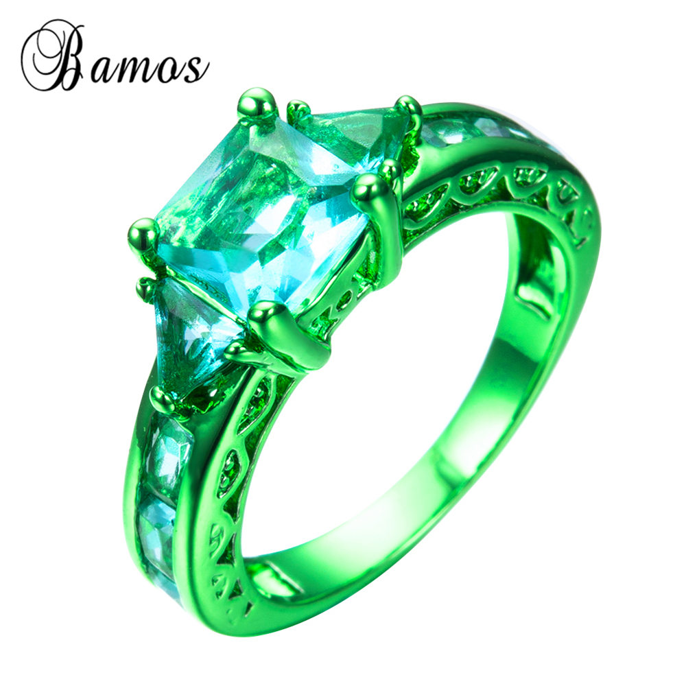 in male rings black from item accessories bands women and green wedding emerald filled ring fashion vintage junxin female jewelry gold on men for