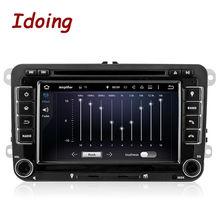 Idoing Android7.1 2Din Samochodowy Odtwarzacz Multimedialny DVD Kierownicy Dla VW Jetta Polo Golf Quad Core GPS Nawigacji z Ekranem Dotykowym